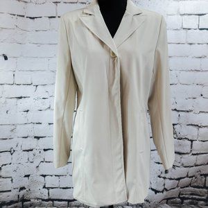 Larry Levine Sport. Tan trench coat small